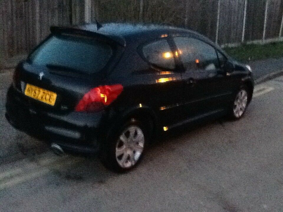 peugeot 207 sport spares or repairs no mot starts and drives