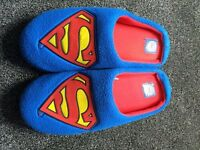 Mens Superman slippers