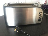 4 Slice Toaster. Cookworks