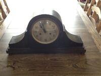 Napoleon Hat Large Mantle Piece Clock