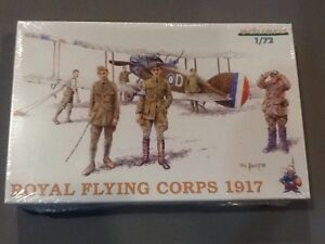ROYAL FLYING CORPS FIGURES plastic model kit by EDUARD.