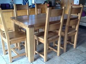 Kitchen/Dining Table & Chairs
