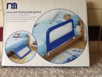 Mothercare soft folding bed guard boxed