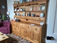 Large Solid Pine Dresser in very good condition