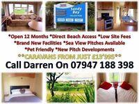 stunning starter caravan for sale contact DARREN for more info on payment options NE63 9YD 4 Sat Nav