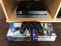 PS4 Boxed & 8 Games