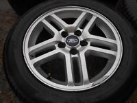 """16"""" GENUINE FORD C MAX ALLOY WHEELS / TYRES - TRANSIT CONNECT ETC"""