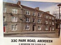 Modern fully furnished 2 kingsize bedroom flat in Aberdeen