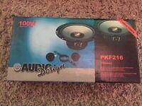 Audio Design PKF216 Car Speaker and Tweeter System 165mm