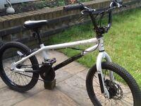 X-rated snare bmx stunt bike ( front disc brake )
