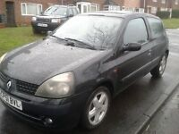 renault clio 1.2 2001 petrol drives mint great runner