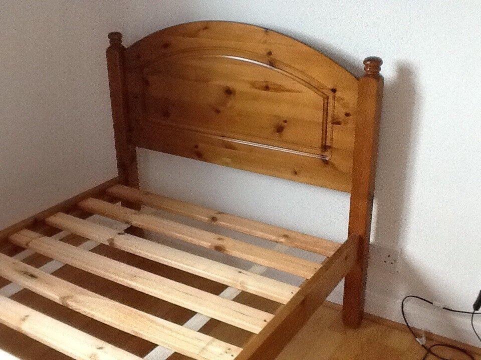 Single wooden Bed frame