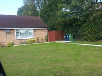 1 bed council bungalow