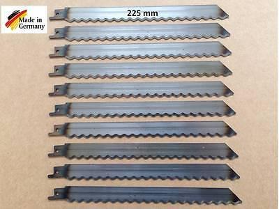 10 x Säbelsägeblätter für Elektro-Fuchsschwanz mit Wellenschliff Trockenbau