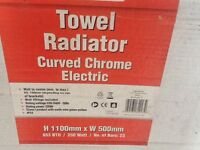 CURVED TOWEL RADIATOR