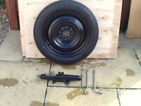Nissan Juke space saver wheel kit