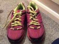 Pink Karrimor Trainers Size 6