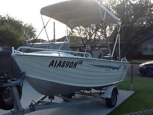 Seajay escape 4.45 Yamaha 40'hp low hours mint con suits new buyr Punchbowl Canterbury Area Preview