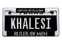 CREATE A CUSTOM FRAME FOR YOUR PERSONALIZED LICENSE PLATE FOR ONLY $10.95!!!!