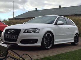Audi S3 Black Edition. Full Audi service history. 52,000 miles.