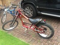 Bike, stingray,chopper style