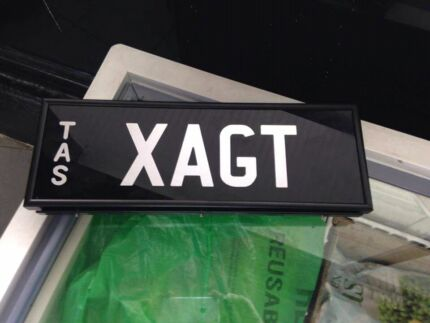 XAGT number plates BRAND NEW  Moonah Glenorchy Area Preview