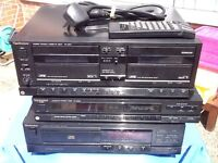 Technic separates. Tuner, cassette player and cd player compact disc