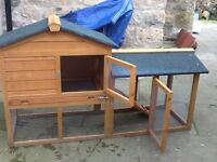 Guinea pig/Rabbit cage used but good condition with rain cover