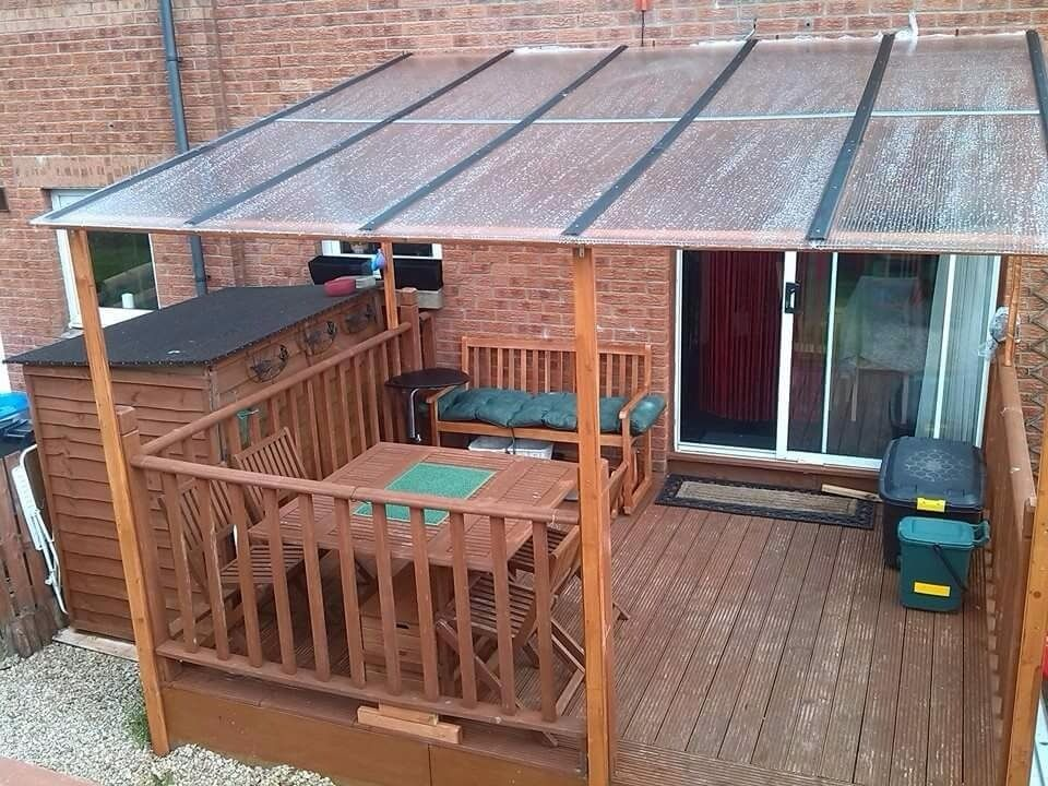 Decking cover roof and fence | in Livingston, West Lothian | Gumtree