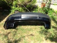 VW Golf MK5 rear bumper in black