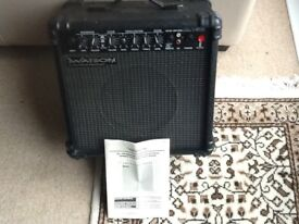 Watson XL15R Guitar Amplifier in great condition with Manual
