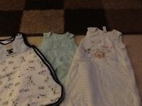 3x baby sleeping bags, very good condition