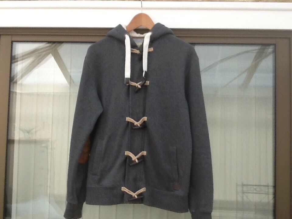 Zipped and toggled hoodie perfect condition