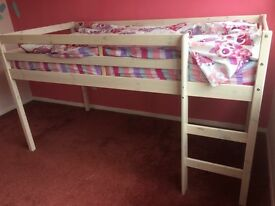 Childs mid sleeper bed