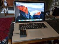 Macbook Pro 15 - i7 - 2010 - (non retina) Fully upgradeable.