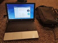 HP Laptop complete with bag, accessories and games