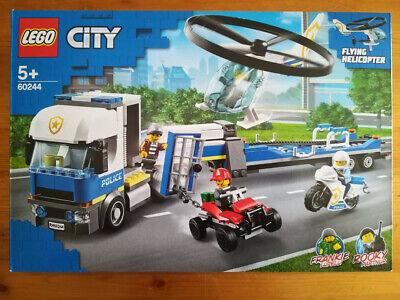LEGO CITY 60244 - TRASPORTATORE DI ELICOTTERI DELLA POLIZIA