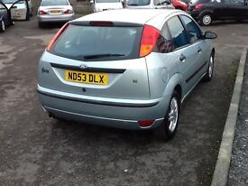 RARE CAR AUTOMATIC FORD FOCUS 1.6cc ZETEC//ONE YEAR MOT//LOW MILEAGE WARRANTED//EXCELLENT CONDITION