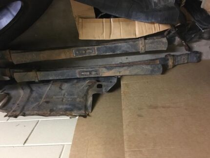 Leaf springs and coils off Navara D40