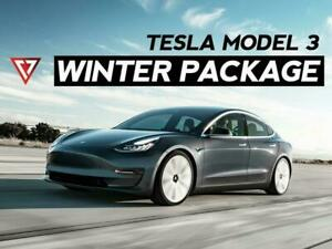 TESLA MODEL 3 WINTER TIRE + WHEEL Package T1 Motorsports (2019-2020) Ontario Preview