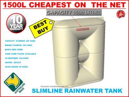 water tank 1500 lt Local Sydney Dealer Penrith Penrith Area Preview