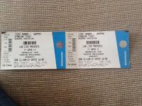 UB40 at Taunton Racecourse 2 tickets and car parking ticket