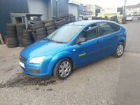 BREAKING FORD FOCUS 1.6 PETROL 5 DOOR BLUE