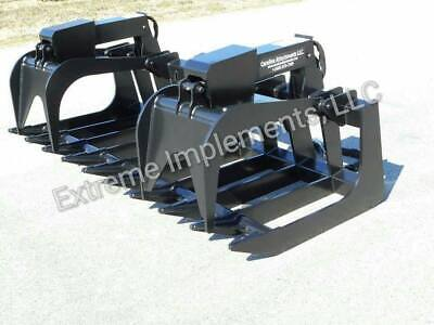 84 Extreme 58 Steel Root Grapple Bucket--80hp