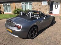 BMW Z4,ONLY 100K,F/S/H,FULL HEATED LEATHER,MAY TAKE CHEAP P/EX AND CASH,530D/330D