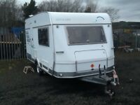 2002 hymer nova 2 berth end changing room with fitted mover