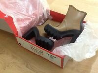 Women's Hunter Original High Heeled Ankle Boots Size 5 Great for Festival or Xmas Present