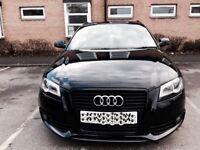 Audi A3 2009 2010 2011 2012 genuine S Line black edition front bumper grill