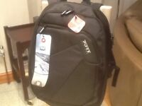 """Brand new/unused(opened only to photograph)for max. 15.6"""" laptop+double zips+ organiser section"""