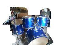 Leedy NRG full acoustic drum kit.